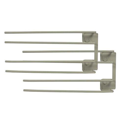 String - Hanger Rack Modul für Weingläser, 16 x 30 cm, grau (2er-Set)