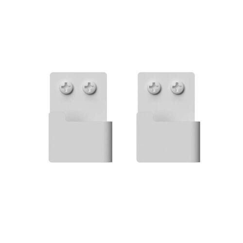 Nichba Design - Wandhaken-Set, weiß (2er-Set)