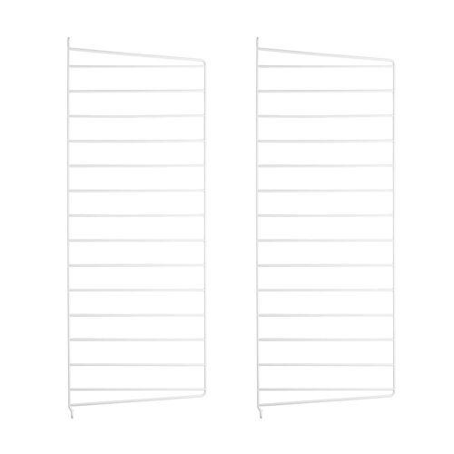String - Wandleiter für String Regal 75 x 30 cm (2er-Set), weiß