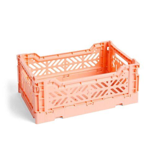 HAY - Colour Crate Korb S, 26,5 x 17 cm, lachsfarben