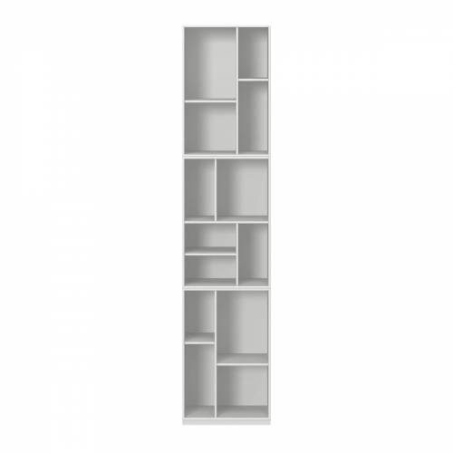 Montana - Loom Bücherregal mit Sockel, new white