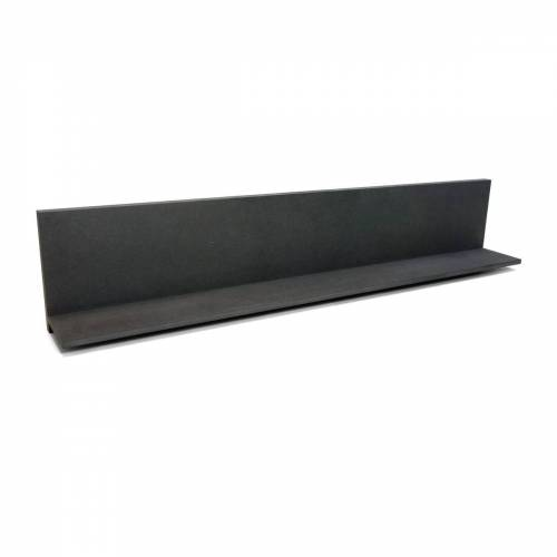 Connox Collection - Daily Wandregal, MDF schwarz / hoch / 90 cm