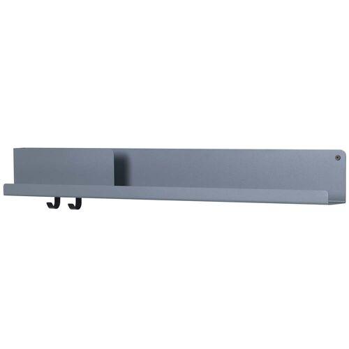 Muuto - Folded Shelves 96 x 13 cm, blau-grau
