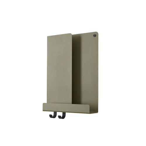 Muuto - Folded Shelves, 29.5 x 40 cm, oliv