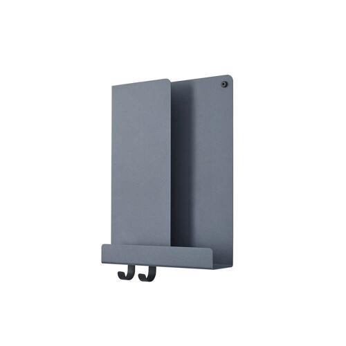 Muuto - Folded Shelves, 29.5 x 40 cm, blau-grau