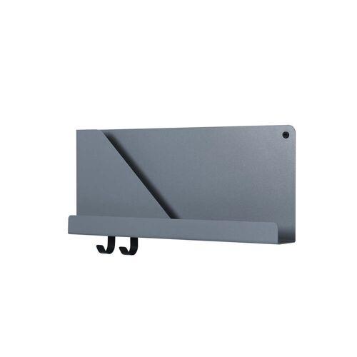 Muuto - Folded Shelves 51 x 22 cm, blau-grau