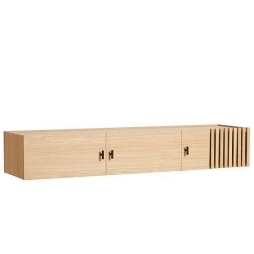 Woud - Array Sideboard 150 cm, Eiche (wandmontiert)