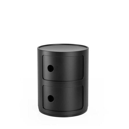 Kartell - Componibili 4986, schwarz matt