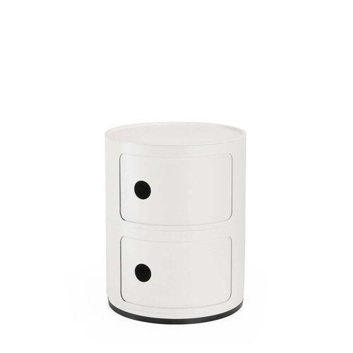 Kartell - Componibili 4986, weiß matt