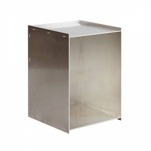 Frama - Rivet Box Beistelltisch, Aluminium