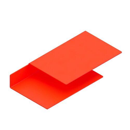 New Tendency - Float Shelf Wandregal, Luminous orange
