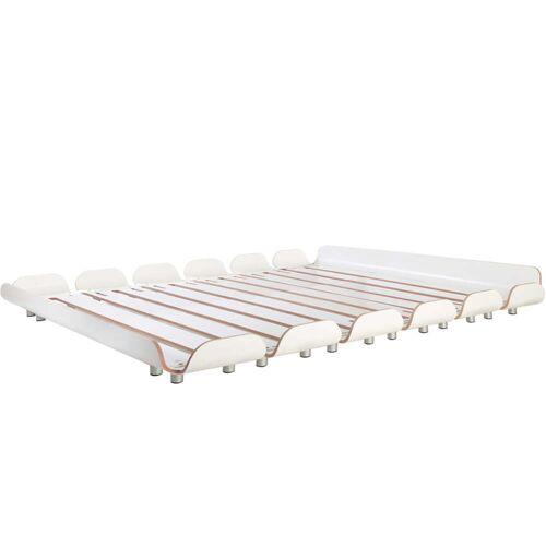 Stadtnomaden - Tiefschlaf Bett 160 cm, weiß