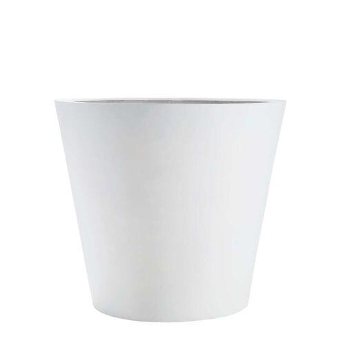 Amei - Der Runde Pflanzkübel, M, weiß