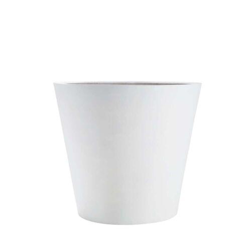 Amei - Pflanzkübel Der Runde, S, weiß