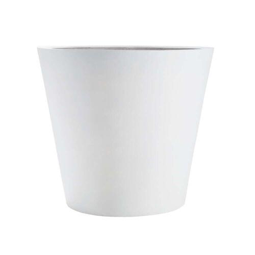 Amei - Der Runde Pflanzkübel, L, weiß