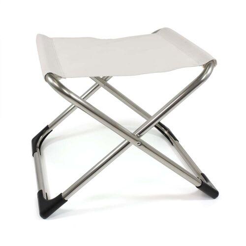 Fiam - Chico Hocker, Aluminium / weiß