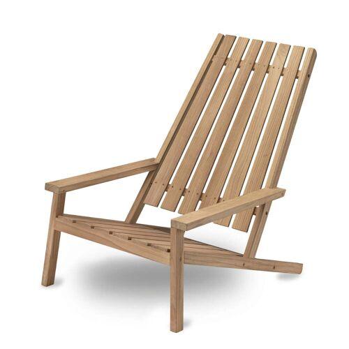 Skagerak - Between Lines Deck Chair, Teakholz