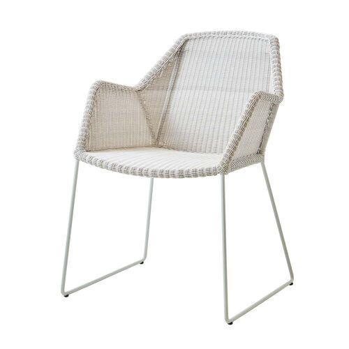 Cane-line - Breeze Sessel (5467) Outdoor, weiß-grau