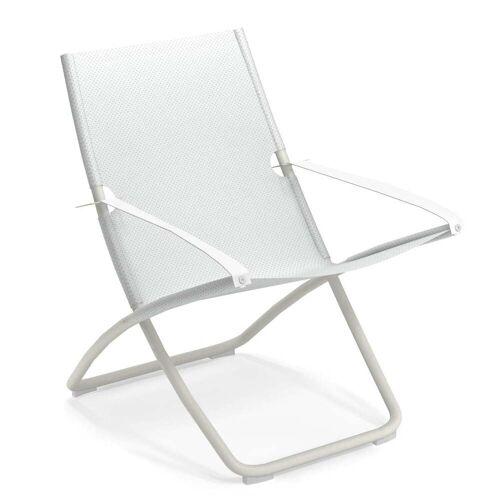 Emu - Snooze Liegestuhl, weiß / weiß