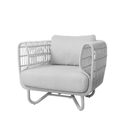 Cane-line - Nest Loungesessel Outdoor, weiß / weiß