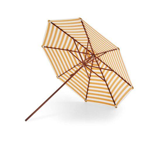 Skagerak - Messina Sonnenschirm Ø 270 cm, goldgelb gestreift
