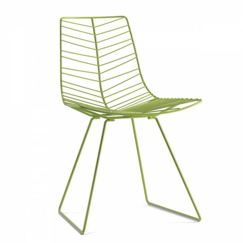 Arper - Leaf Stuhl, grün