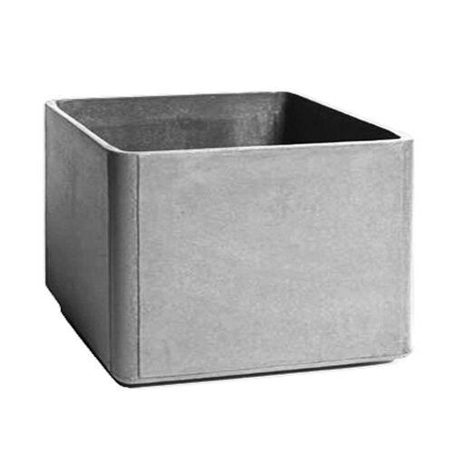 Eternit - Delta Pflanzgefäß 60 x 60 x 45 cm, grau