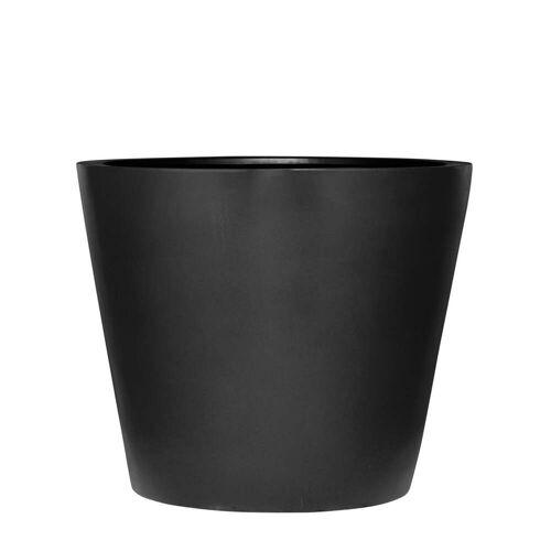 Amei - Der Runde Pflanzkübel, M, schwarz