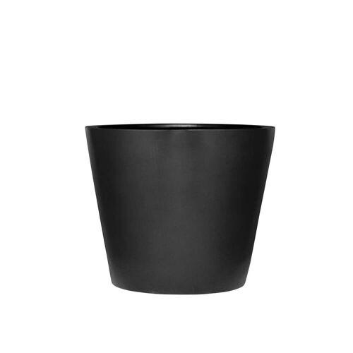 Amei - Der Runde Pflanzkübel, XS, schwarz