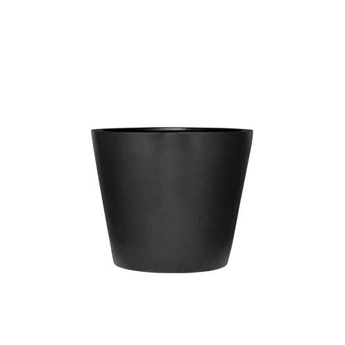 Amei - Der Runde Pflanzkübel, XXS, schwarz