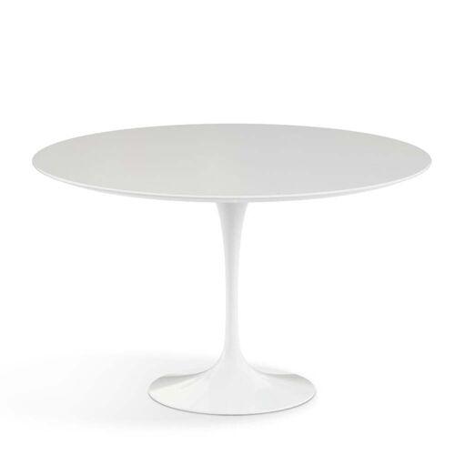 Knoll - Saarinen Outdoor Tisch Ø 120 cm, weiß