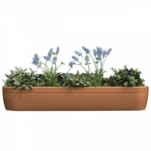 Rephorm - windowgreen Fensterbank Blumenkasten, terracotta