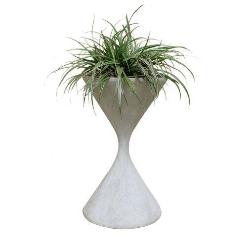 Eternit - Spindel Pflanzentopf, Ø 37 x 60 cm, naturgrau