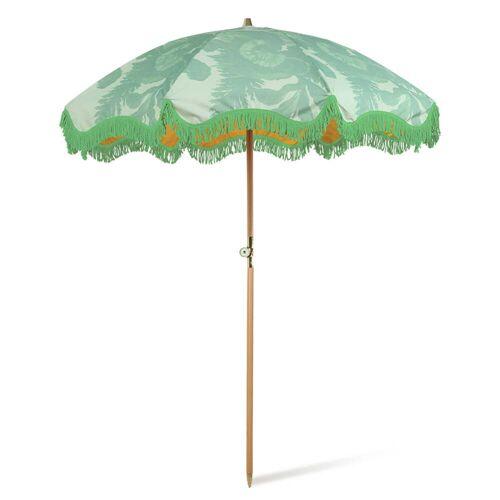 HKliving - Sonnenschirm, Ø 200 cm, floral pistachio
