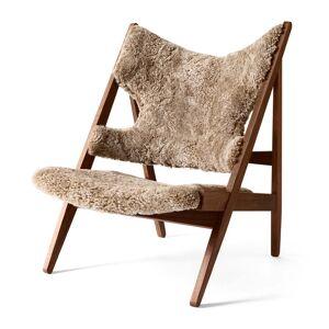 MENU - Knitting Chair, Walnuss / Sheepskin Cork 19