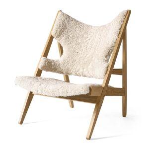 MENU - Knitting Chair, Eiche natur / Sheepskin Moonlight 09