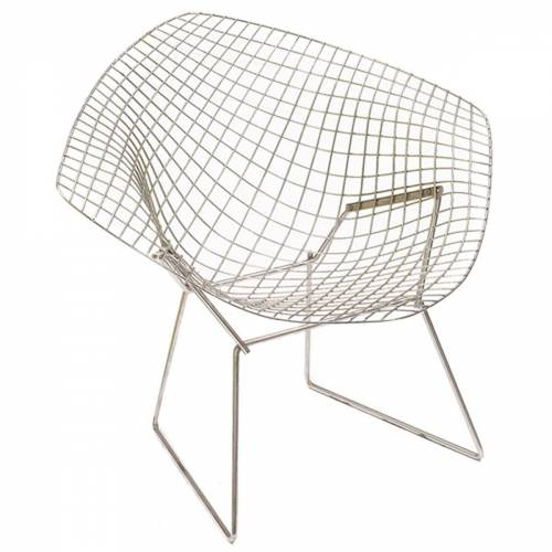 Knoll - Bertoia Diamond Sessel, Chrom