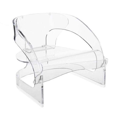 Kartell - Joe Colombo Sessel, transparent
