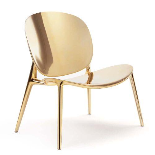 Kartell - Be Bop Sessel, gold metallic