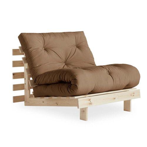 KARUP Design - Roots Schlafsessel 90 cm, Kiefer natur / mocca (755)