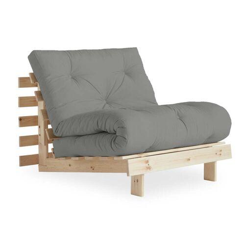 KARUP Design - Roots Schlafsessel 90 cm, Kiefer natur / grau (746)