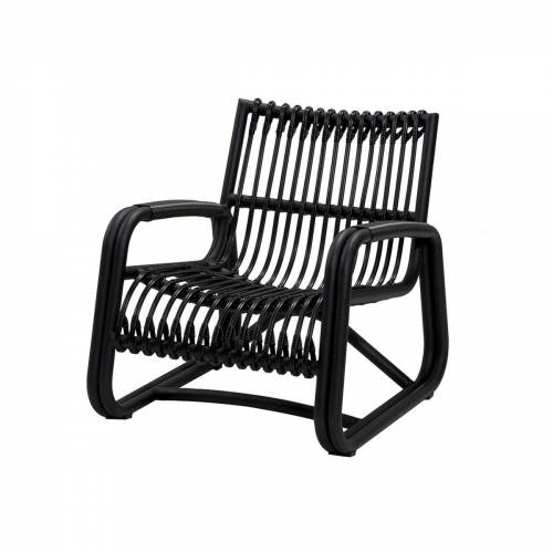 Cane-line - Curve Loungesessel Outdoor, lava grey
