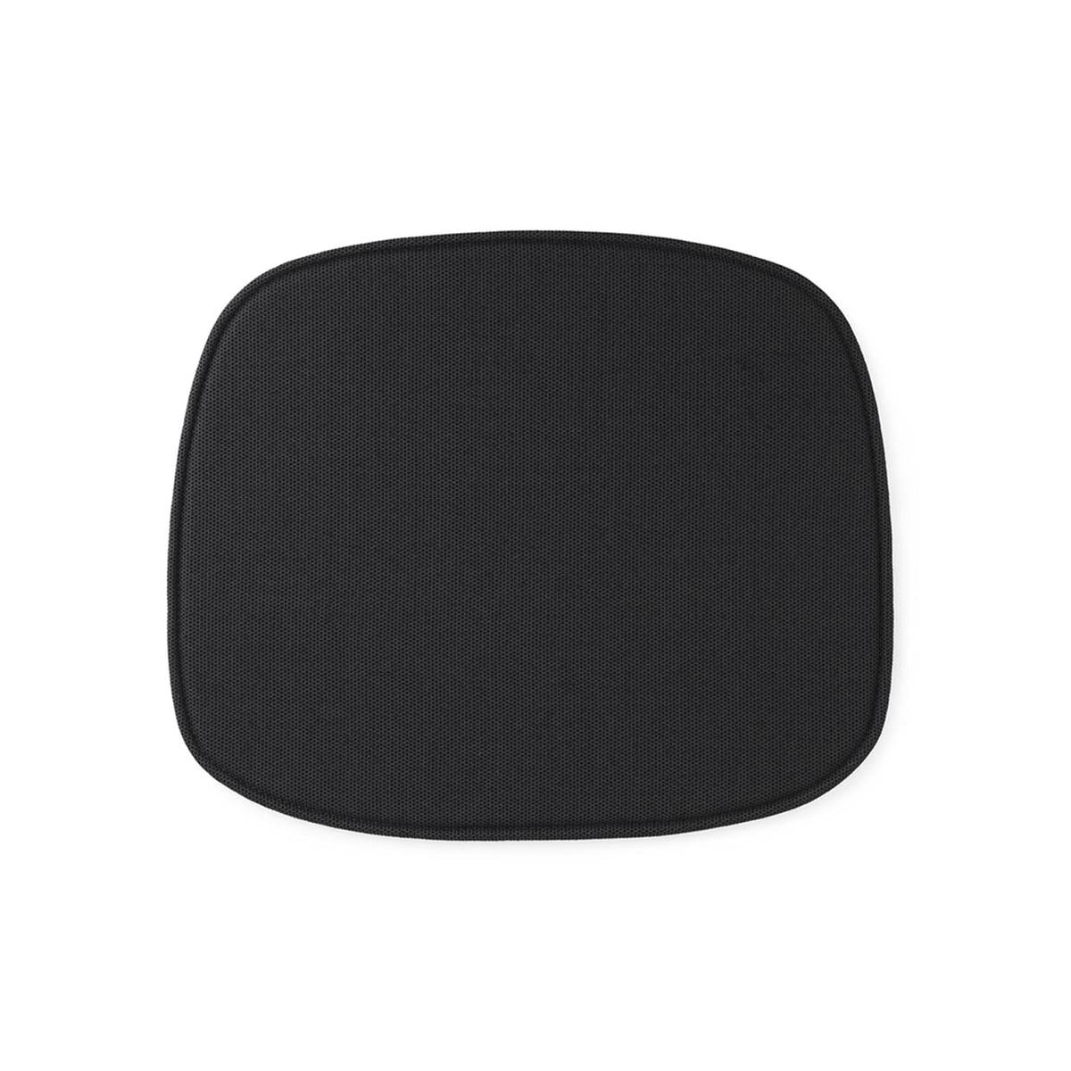 Normann Copenhagen - Sitzkissen zum Form Stuhl, schwarz