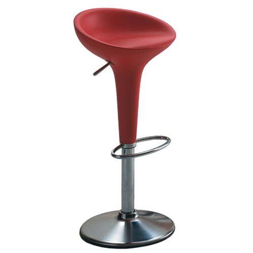 Magis - Bombo Barhocker, höhenverstellbar, rot