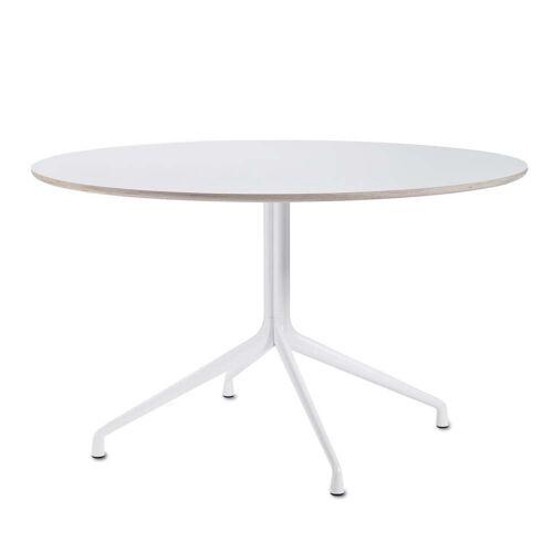 HAY - About A Table AAT 20 Esstisch Ø128 cm, weiß