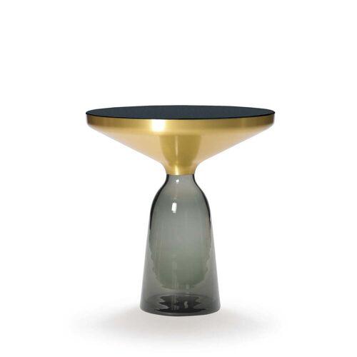 ClassiCon - Bell Beistelltisch, Messing / quarz-grau