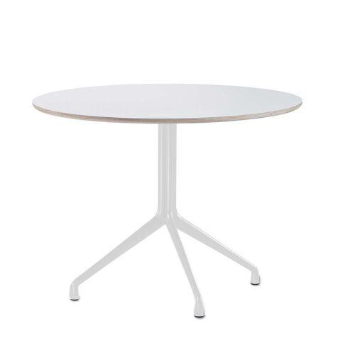 HAY - About A Table AAT 20 Esstisch Ø110 cm, weiß