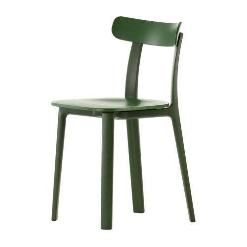 Vitra - All Plastic Chair, efeu, Kunststoffgleiter