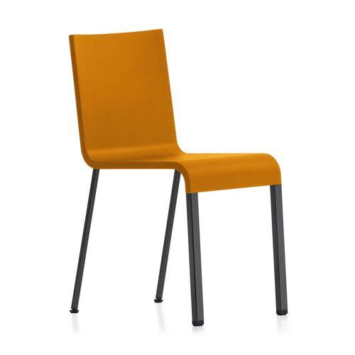 Vitra - .03 Stuhl, schwarz / mango