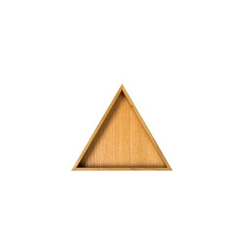 Conmoto - Karo Tablett, klein / Eiche